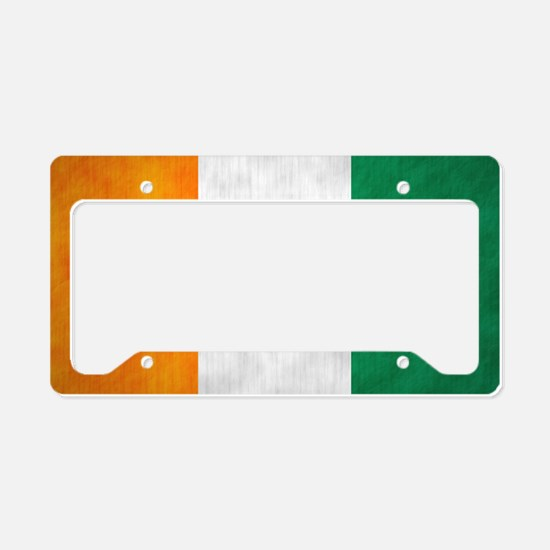 irish5 License Plate Holder