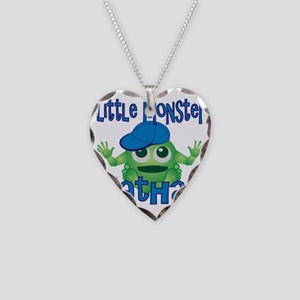 nathan-b-monster Necklace Heart Charm