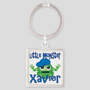 xavier-b-monster Square Keychain