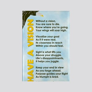 GREETING CARD_Have a Vision Rectangle Magnet
