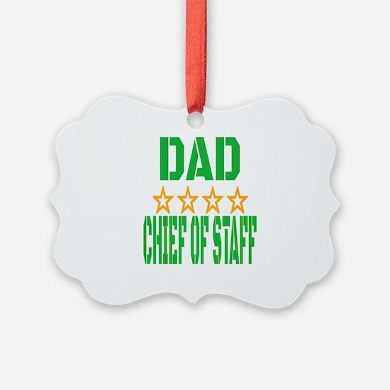 Dad Chief Of Staff Ornament