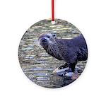 River Otter Ornament (Round)