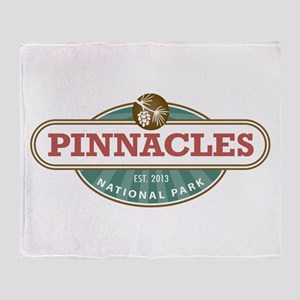 Pinnacles National Park Throw Blanket