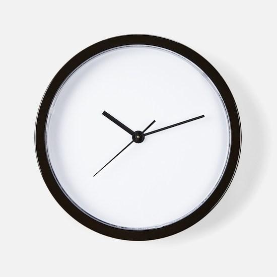 model_40_dark Wall Clock