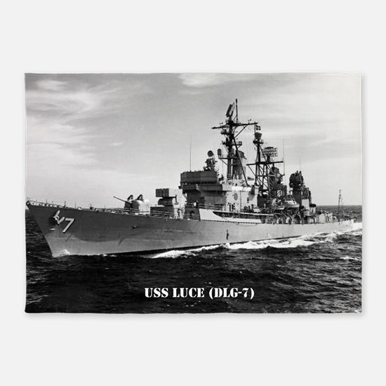 luce dlg large poster 5'x7'Area Rug
