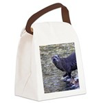 River Otter Canvas Lunch Bag