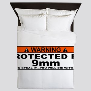 protected by 9mm Queen Duvet