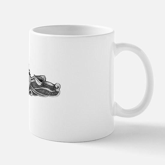 preble ddg white letters Mug
