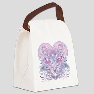 pilates girl Canvas Lunch Bag