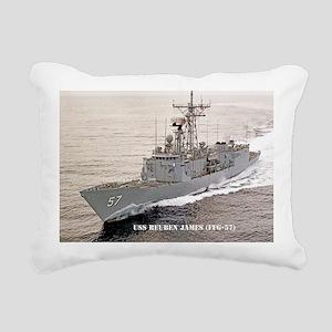 rjames large poster Rectangular Canvas Pillow