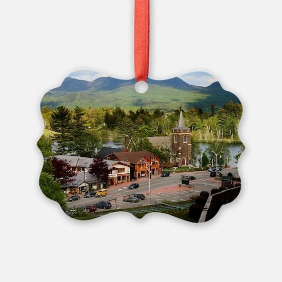 LakePlacidS LargeFramedPrint Ornament