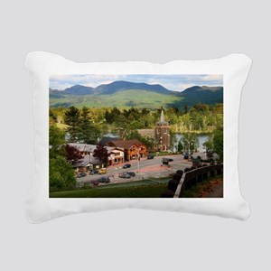LakePlacidS LargeFramedP Rectangular Canvas Pillow