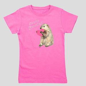 Groundhog-BeMine-Pink-Heart-03 Girl's Tee