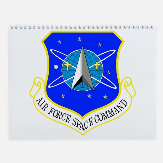 AF Space Command Wall Calendar