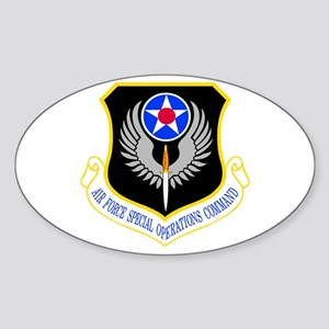 USAF Special Operations Command Oval Sticker