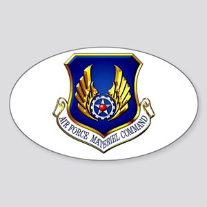 USAF Materiel Command Oval Sticker