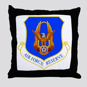 USAF Reserve Command Throw Pillow