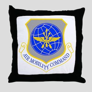 USAF Materiel Command Throw Pillow