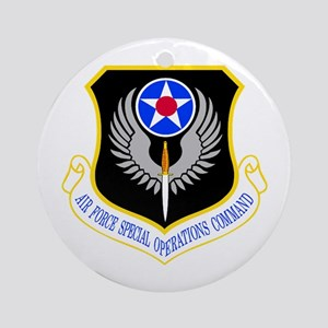 USAF Special Operations Command Ornament (Round)