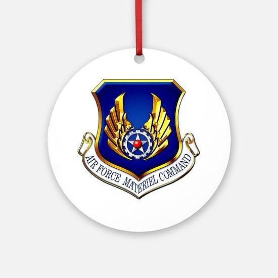 USAF Materiel Command Ornament (Round)