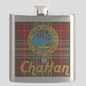 chattan tartan 10x10 Flask