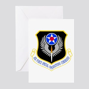 USAF Special Ops Command Greeting Cards (Pk of 10)