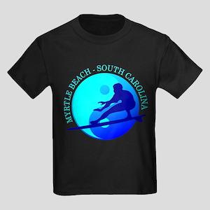 Myrtle Beach (yin-yang) Blue T-Shirt