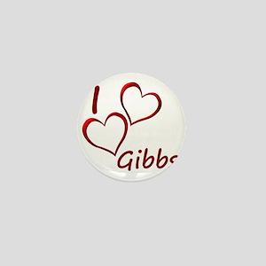 I love Gibbs Mini Button