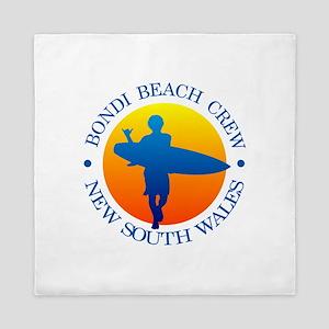 Surf Bondi Beach Queen Duvet