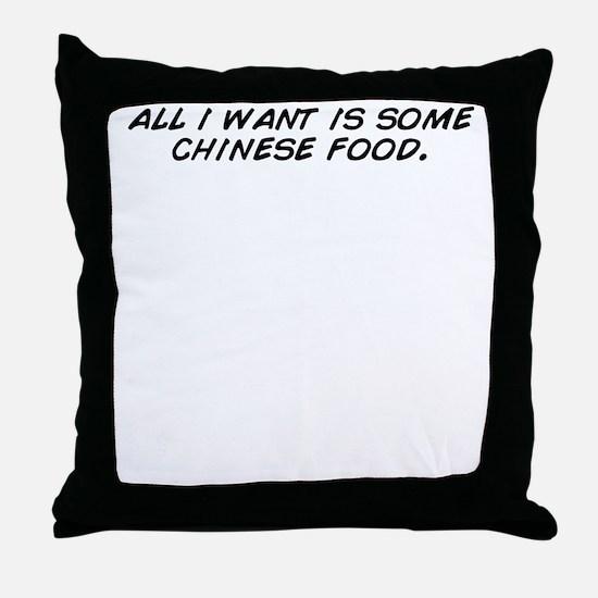 Cute All Throw Pillow