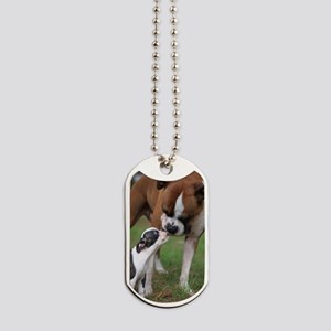 bigsmallfront Dog Tags