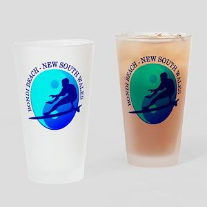 Zen Surfer (Bondi) Drinking Glass