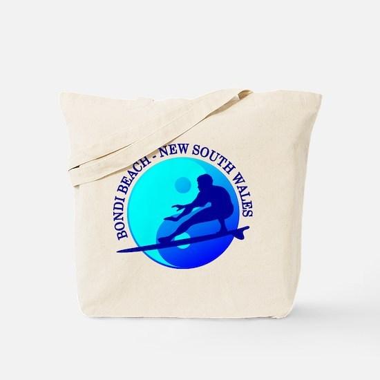 Zen Surfer (Bondi) Tote Bag