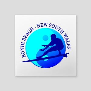 Zen Surfer (Bondi) Sticker