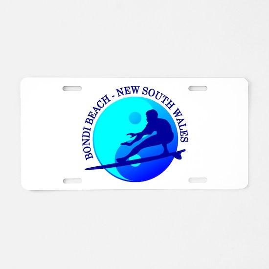 Zen Surfer (Bondi) Aluminum License Plate