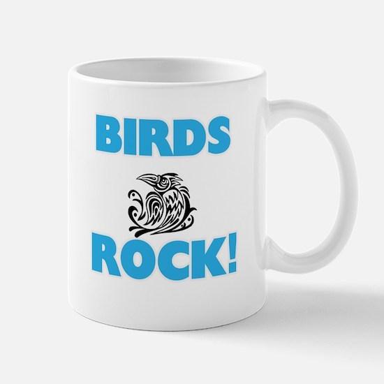Birds rock! Mugs