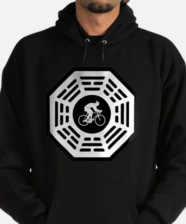 Cycling_men_notext Hoodie (dark)