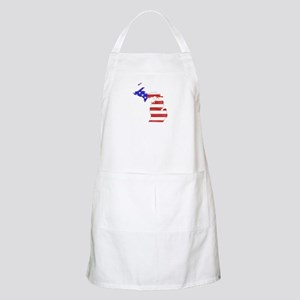 Michigan Flag Apron