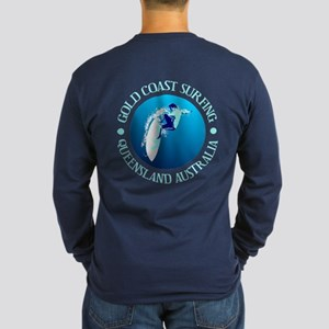 Gold Coast Surfing Long Sleeve T-Shirt