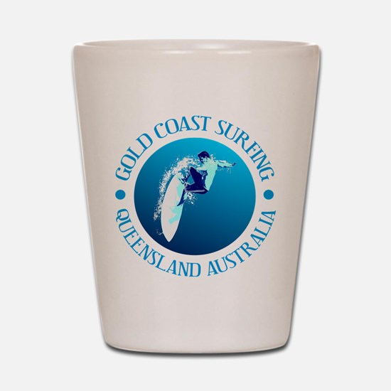 Gold Coast Surfing Shot Glass