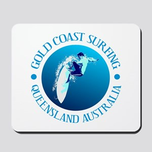 Gold Coast Surfing Mousepad