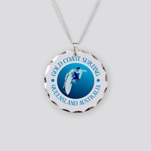 Gold Coast Surfing Necklace