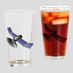 Space Satellite Drinking Glass