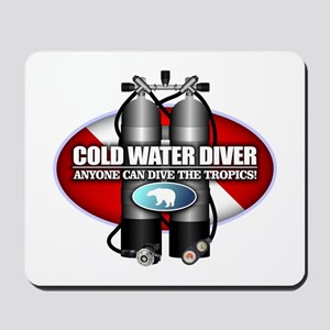 Cold Water Diver (ST) Mousepad