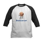 BrainLint.Net Kids Baseball Jersey
