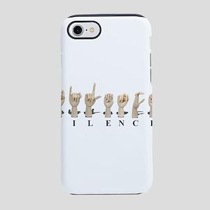 SilenceAmeslan062611 iPhone 7 Tough Case