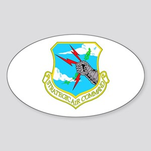 Strategic Air Command Oval Sticker