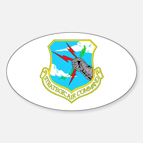 Strategic Air Command Oval Decal
