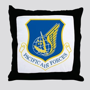 Pacific Air Forces Throw Pillow