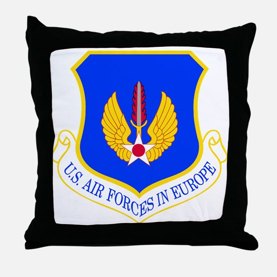 USAF Europe Throw Pillow